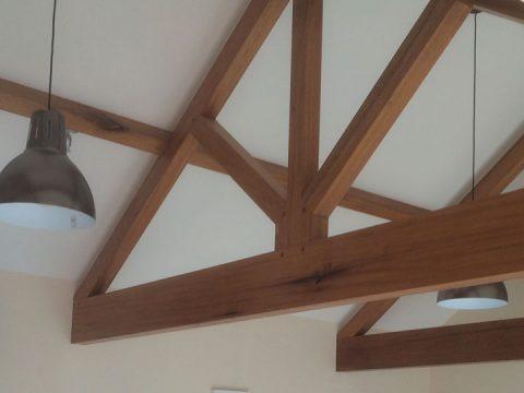 Wood beams and joists