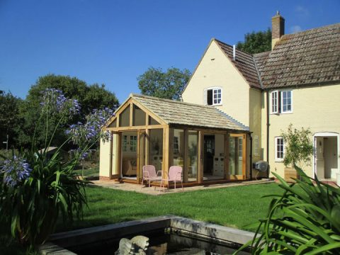 Garden room Extension Denton Norfolk