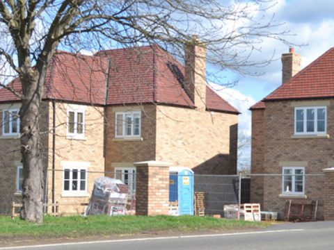 New build Wiggs Farm, Warboys, Cambridgeshire